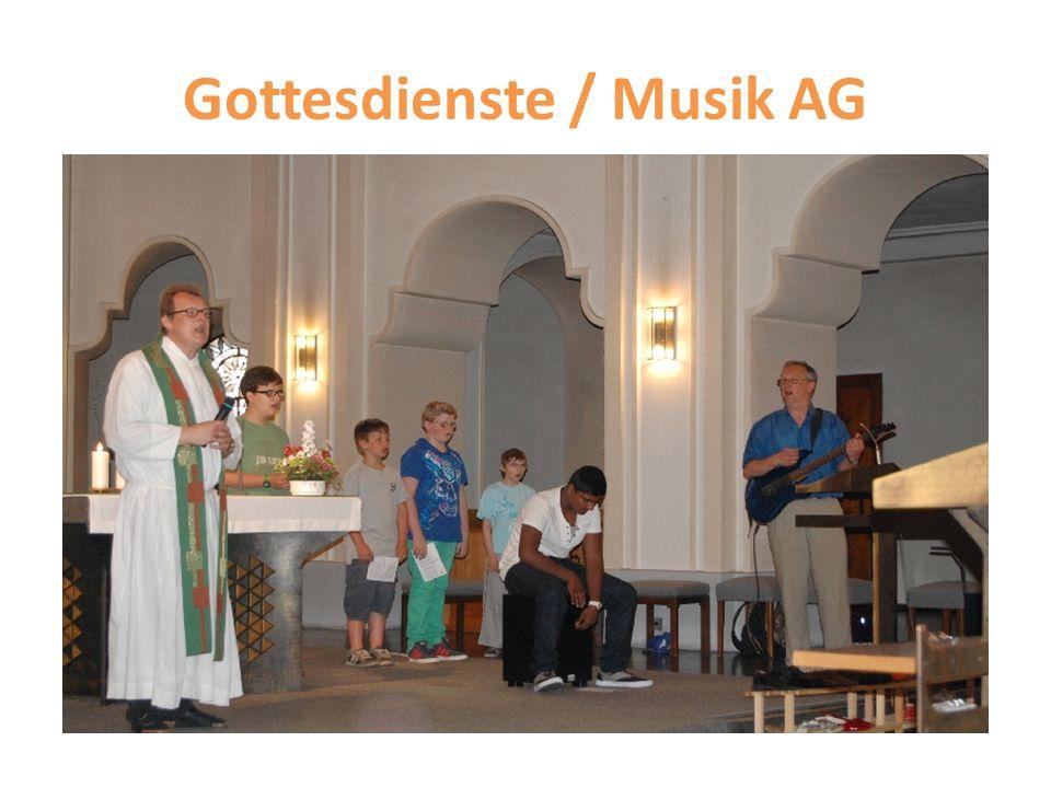 Gottesdienste / Musik AG