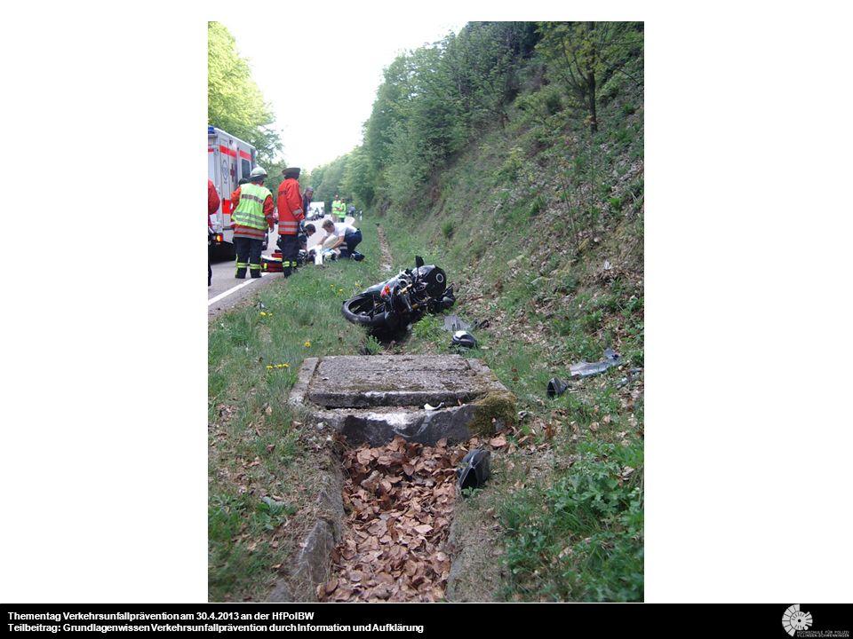 20 Thementag Verkehrsunfallprävention am 30.4.2013 an der HfPolBW Teilbeitrag: Grundlagenwissen Verkehrsunfallprävention durch Information und Aufklär