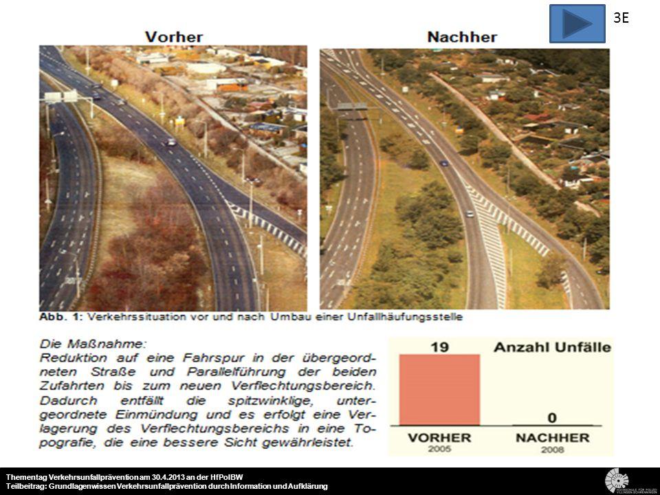21 Thementag Verkehrsunfallprävention am 30.4.2013 an der HfPolBW Teilbeitrag: Grundlagenwissen Verkehrsunfallprävention durch Information und Aufklär