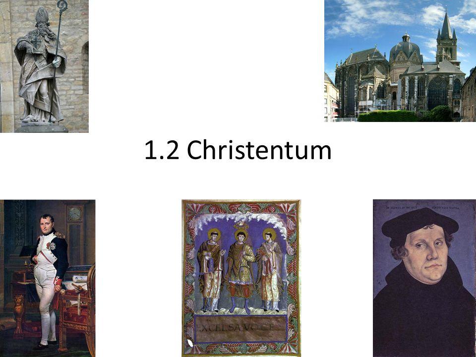 1.2 Christentum