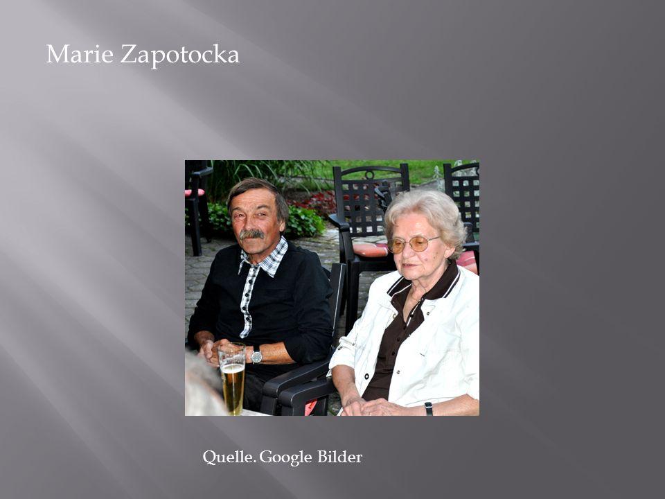 Marie Zapotocka Quelle. Google Bilder