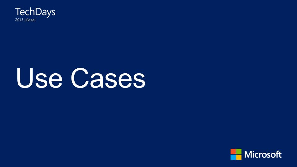 | Basel Use Cases