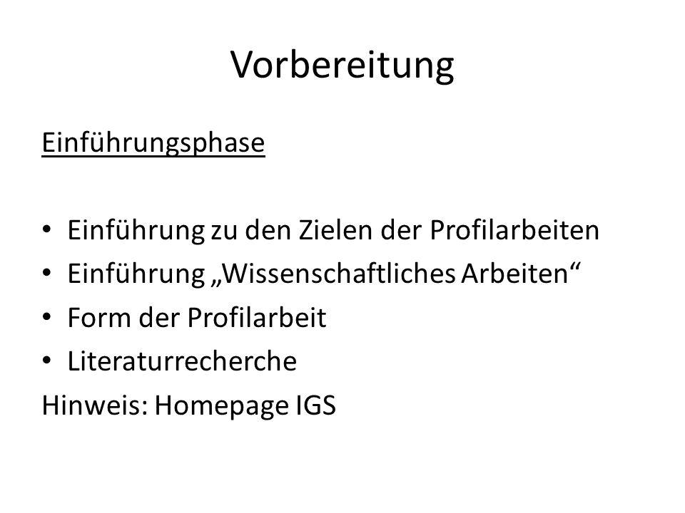 Arbeitsphasen 1.Themenanalyse/Literaturverzeichnis Abgabe der Analyse des Themas und des Literaturverzeichnisses beim Deutschlehrer Themenanalyse 1.-3.