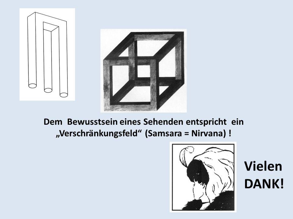 Dem Bewusstsein eines Sehenden entspricht ein Verschränkungsfeld (Samsara = Nirvana) ! Vielen DANK!