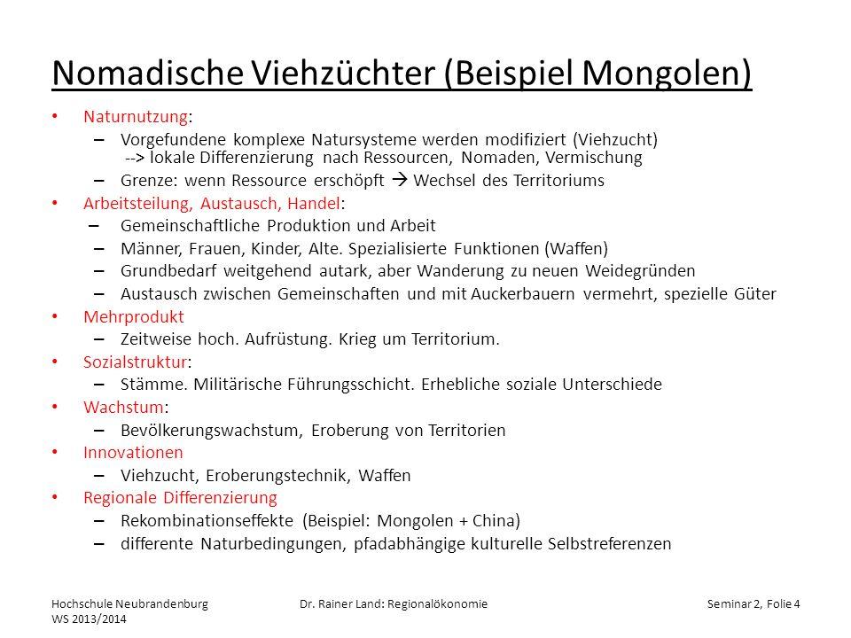 Input Output Hochschule Neubrandenburg WS 2013/2014 Dr.