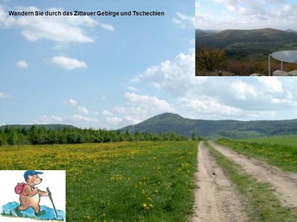 Wandern Sie durch das Zittauer Gebirge und Tschechien