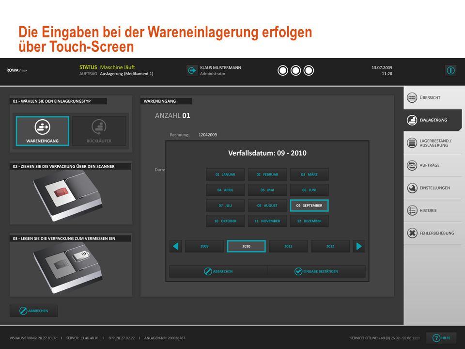 10 © User Interface Design GmbH Benutzerfreundliches GUI Design mit.NET WPF November 2009 Mit dem Dashboard sind wichtige Statusinformationen auf eine