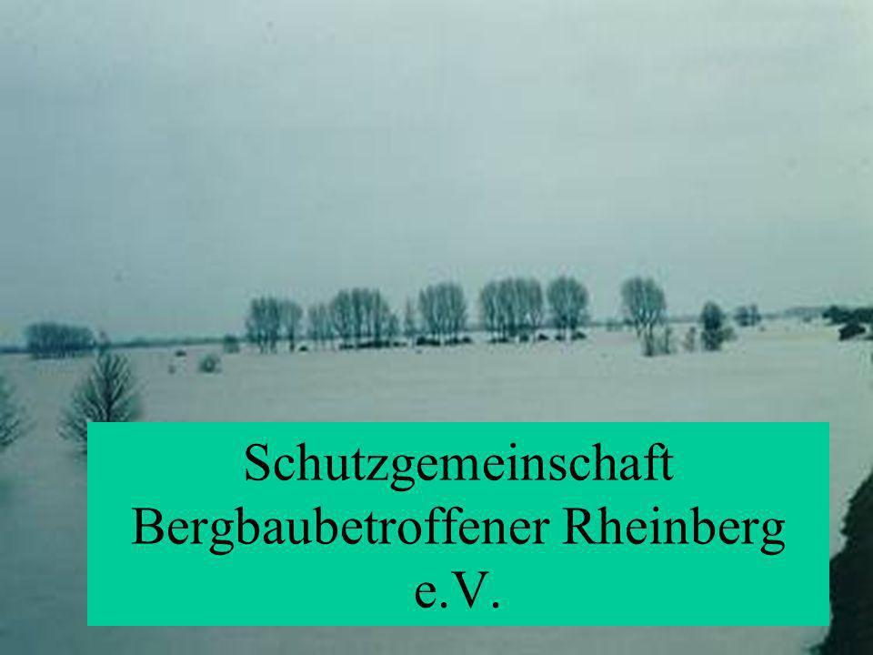 Schutzgemeinschaft Bergbaubetroffener (SGB) Rheinberg e.V. Schutzgemeinschaft Bergbaubetroffener Rheinberg e.V.