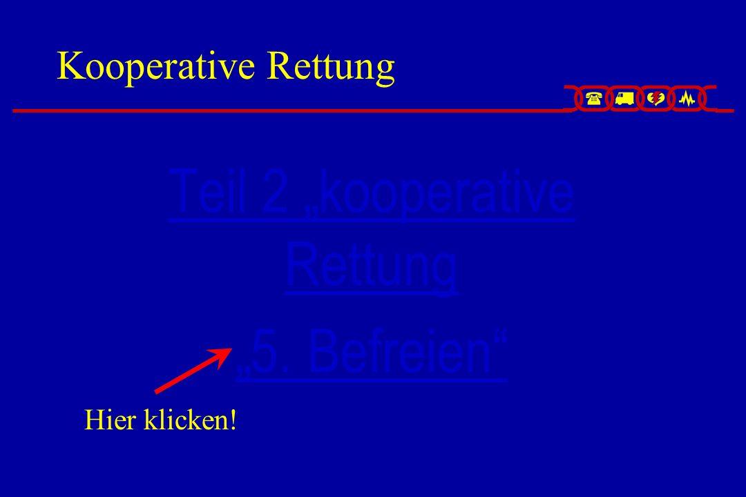 Kooperative Rettung Teil 2 kooperative RettungTeil 2 kooperative Rettung 5. Befreien Hier klicken!