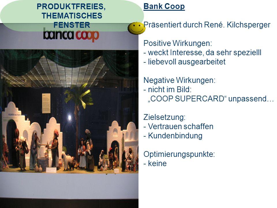 Bank Coop Präsentiert durch René.
