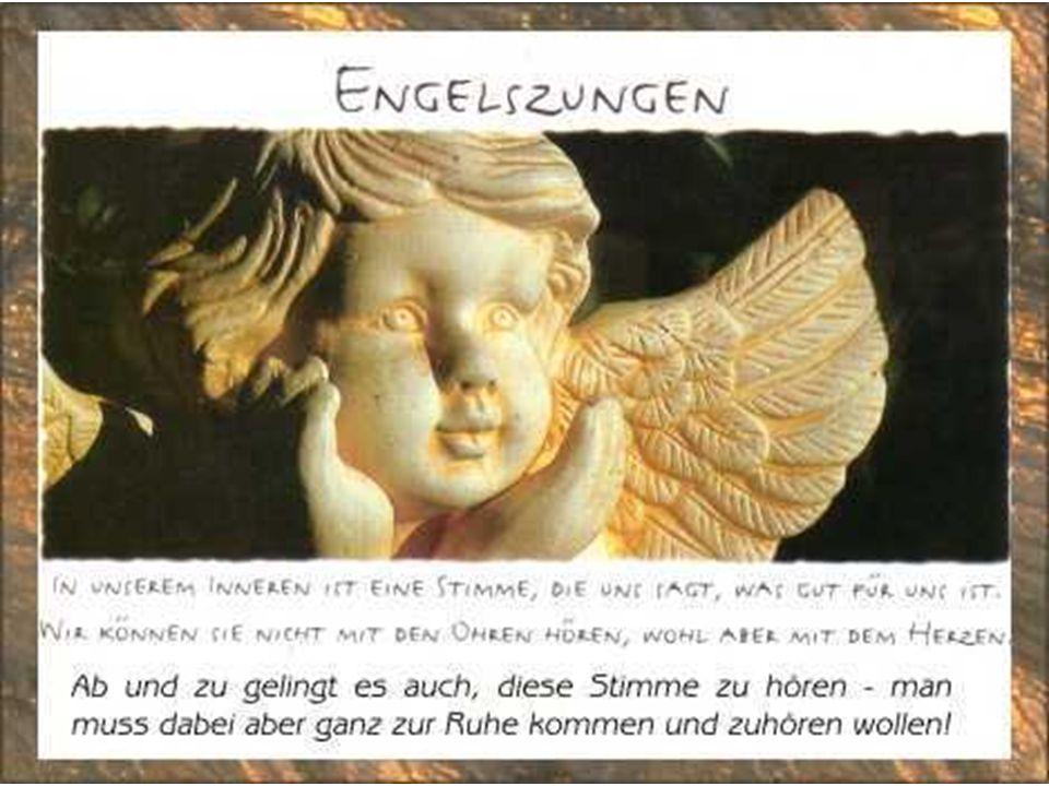 Engel sind Bilder unserer Sehnsucht nach Geborgenheit und Heimat, nach Leichtigkeit und Freude, Nach Lebendigkeit und LIEBE. Anselm Grün