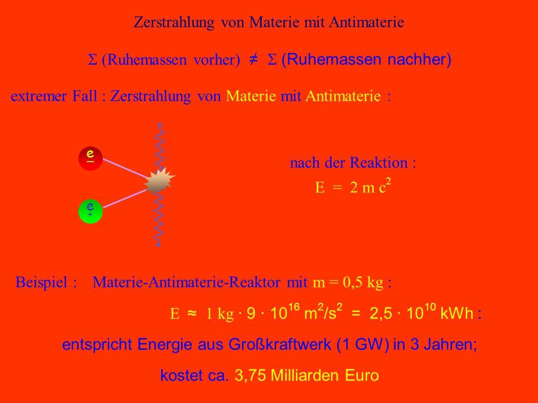 Kernfusion / Kernspaltung zwei Möglichkeiten : Kernfusion (Sonne, Wasserstoffbombe) Kernspaltung (Atomkraftwerk, Atombombe)