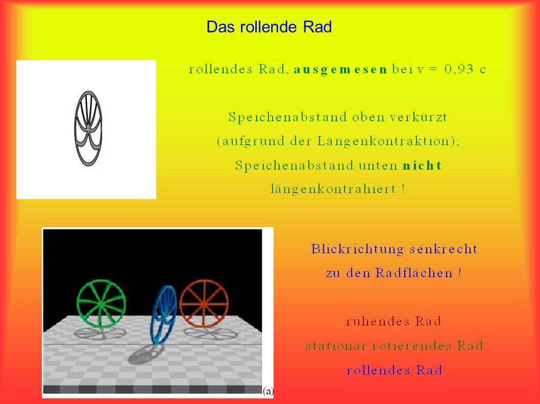 Das relativistische Fahrrad