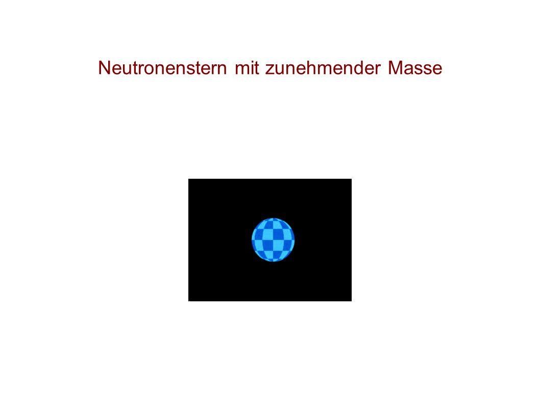 Lichtablenkung Folgerung : Gravitationsfelder lenken Licht ab .