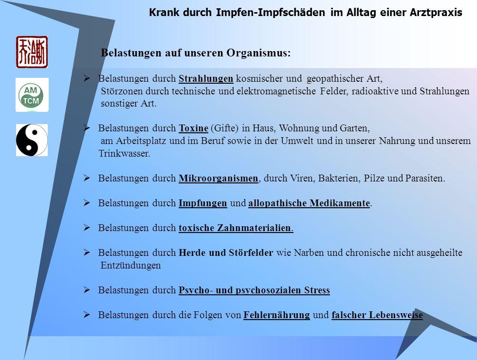 Krank durch Impfen-Impfschäden im Alltag einer Arztpraxis Matthias R.