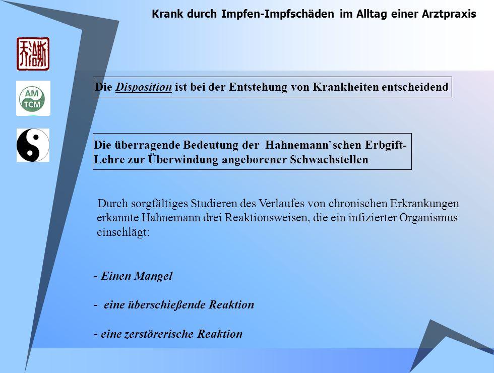 Krank durch Impfen-Impfschäden im Alltag einer Arztpraxis Angelika U.
