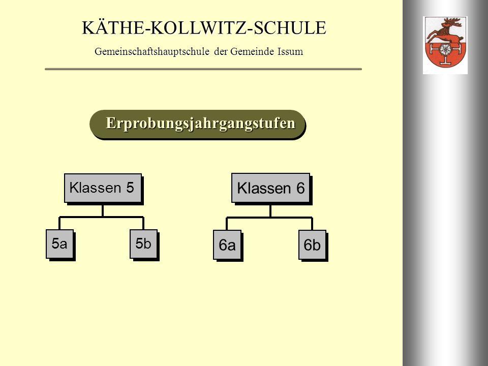 KÄTHE-KOLLWITZ-SCHULE Gemeinschaftshauptschule der Gemeinde Issum Klassen 7 E-Kurs G-Kurs ENGLISCH MATHEMATIK 7a7b Klassen 7