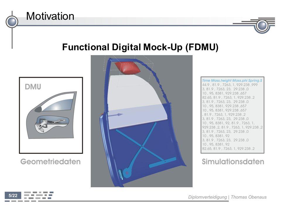 Konzeption ' FDMU: Visualisierung von Simulationsdaten mit Hilfe von Geometriedaten ' Prozess der Visualisierung besteht aus drei Schritten Filtering Mapping Rendering