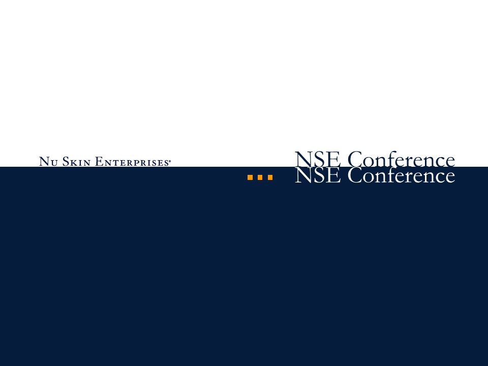 NSE Conference
