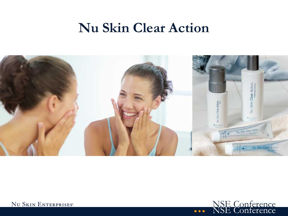 NSE Conference Nu Skin Clear Action