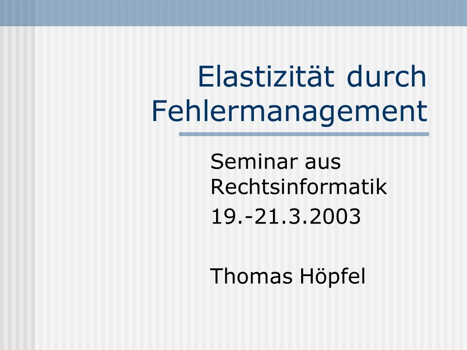 11 Anforderung/Konfiguration Leistungskennzeichen Sicherheitsaspekte Kosten Fehler-Management.