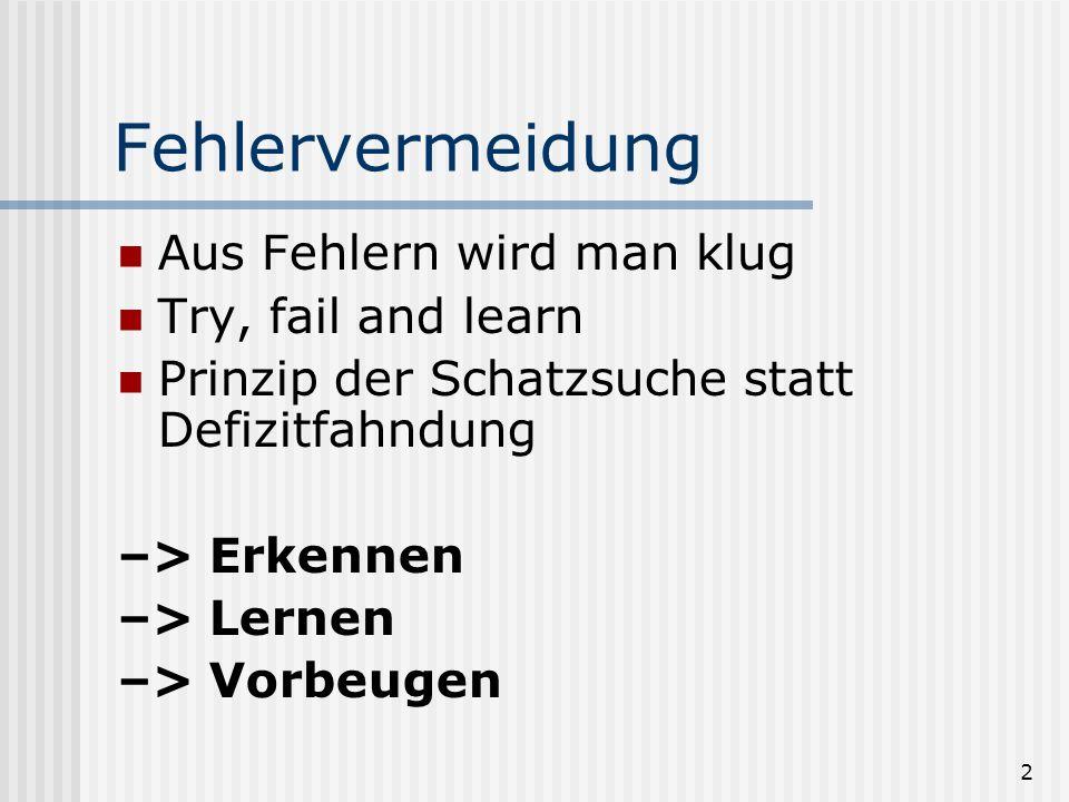 Elastizität durch Fehlermanagement Seminar aus Rechtsinformatik 19.-21.3.2003 Thomas Höpfel