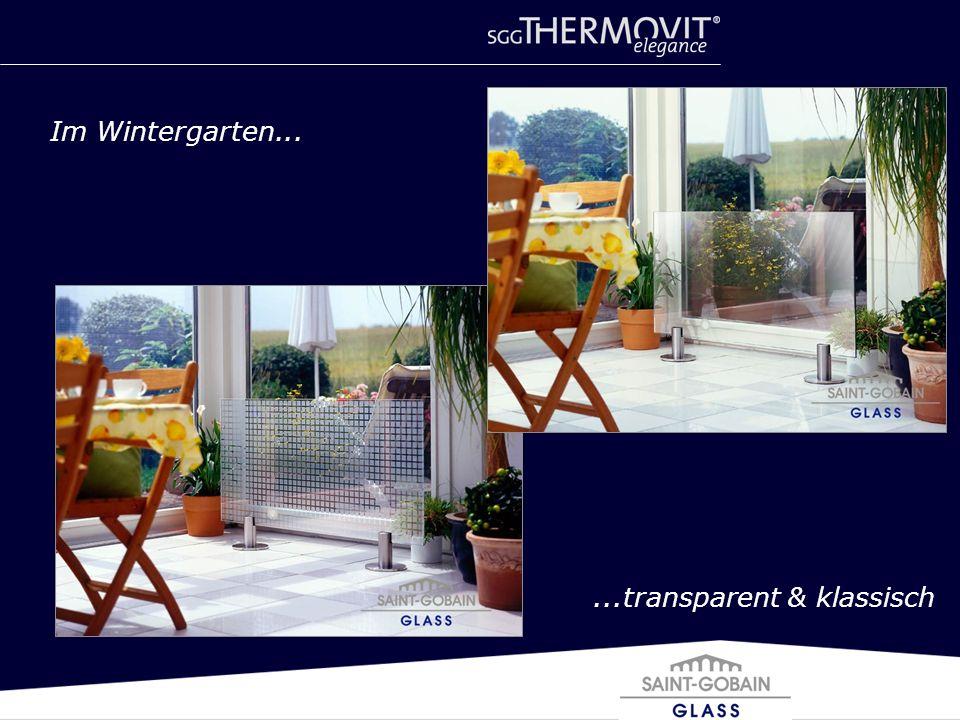 Im Wintergarten......transparent & klassisch