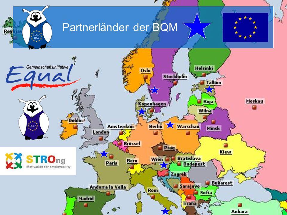 Partnerländer der BQM