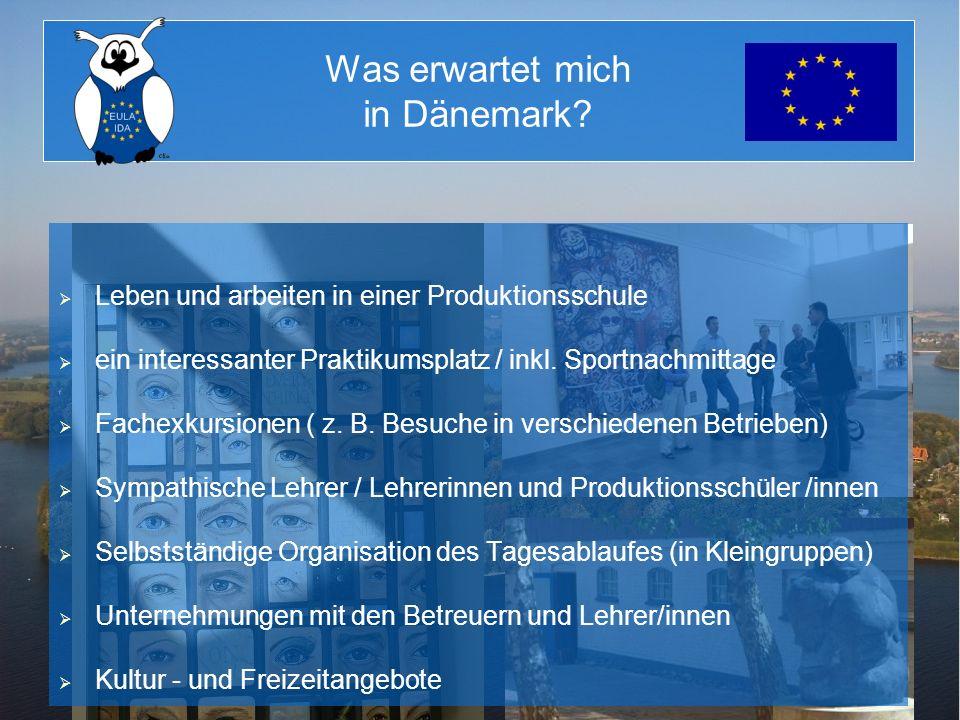 Was erwartet mich in Dänemark? Leben und arbeiten in einer Produktionsschule ein interessanter Praktikumsplatz / inkl. Sportnachmittage Fachexkursione