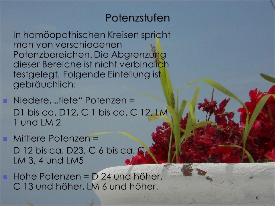 Pflanzen und Pflanzenteile In der Phytotherapie kommen unter-schiedliche Pflanzenteile zur Anwendung.