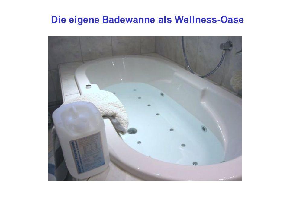 Die Badewanne als Wellnessoase 1 Liter der Sülbecker Thermalsole enthält durchschnittlich 315g gelöste Mineralstoffe, d.h.