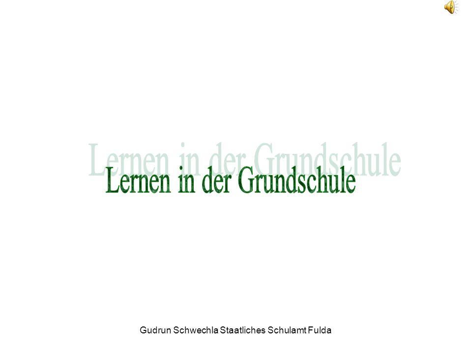 Gudrun Schwechla Staatliches Schulamt Fulda Kapitel 4.