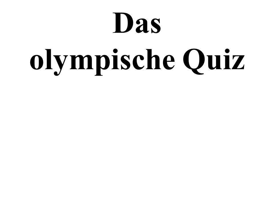 Das olympische Quiz