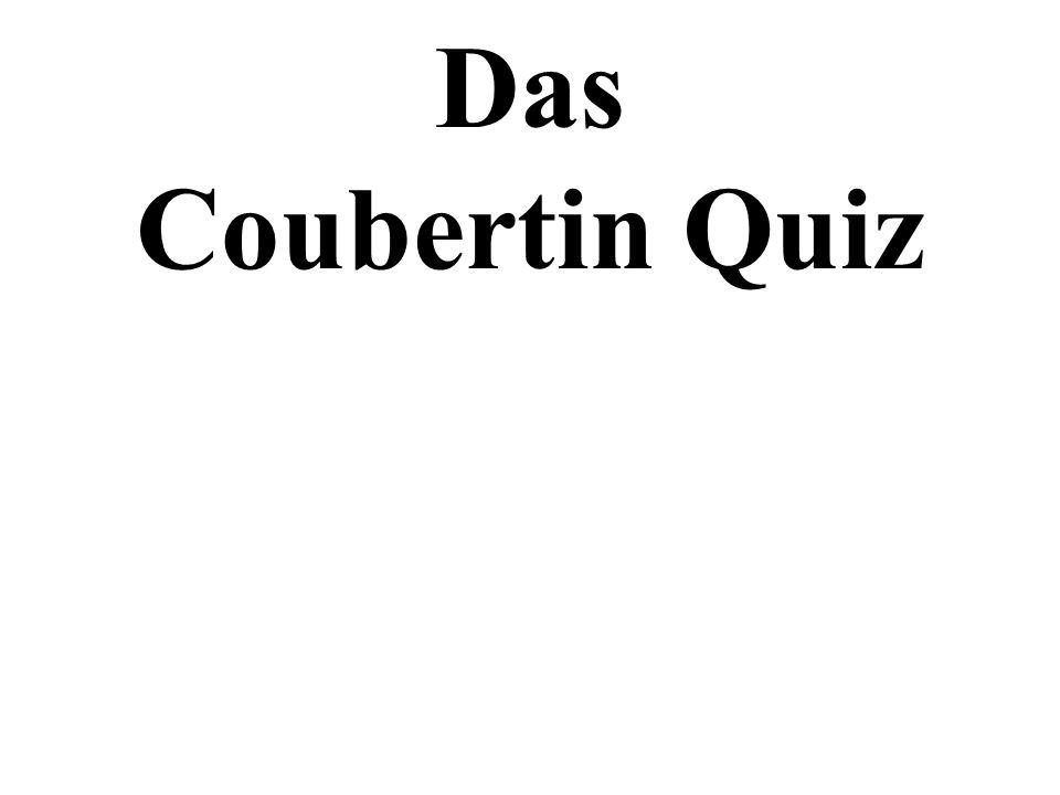 Das Coubertin Quiz