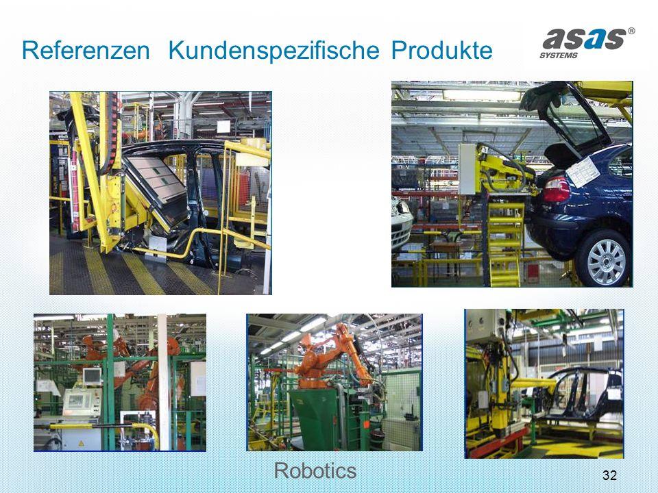 32 Robotics Referenzen Kundenspezifische Produkte