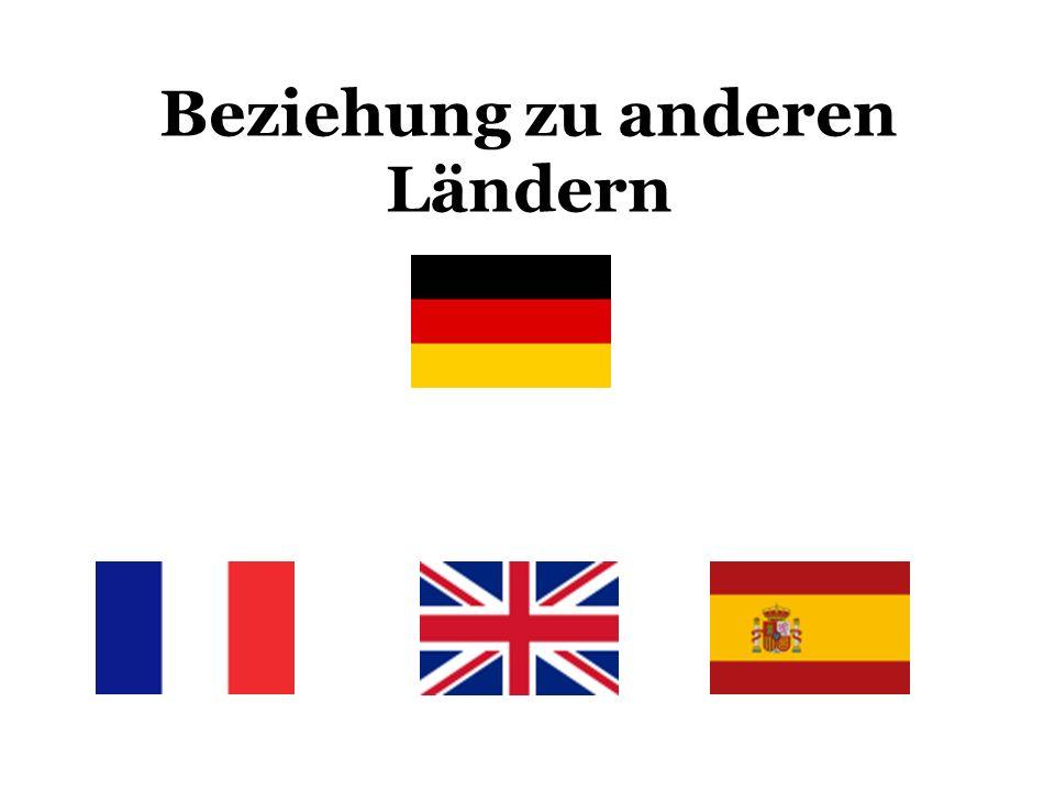 Beziehung zu anderen Ländern