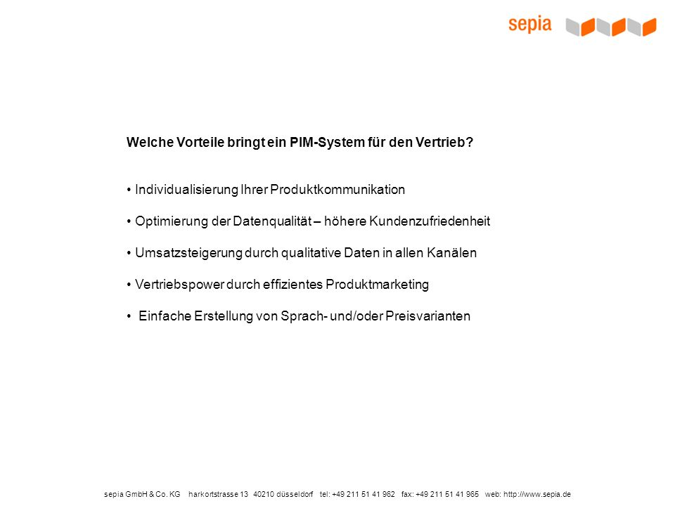 sepia GmbH & Co.