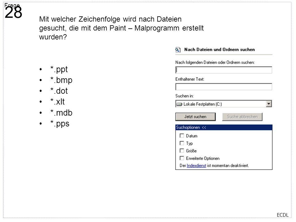 Titelmasterformat durch Klicken bearbeiten Textmasterformate durch Klicken bearbeiten Zweite Ebene Dritte Ebene Vierte Ebene Fünfte Ebene Frage 29 ECD