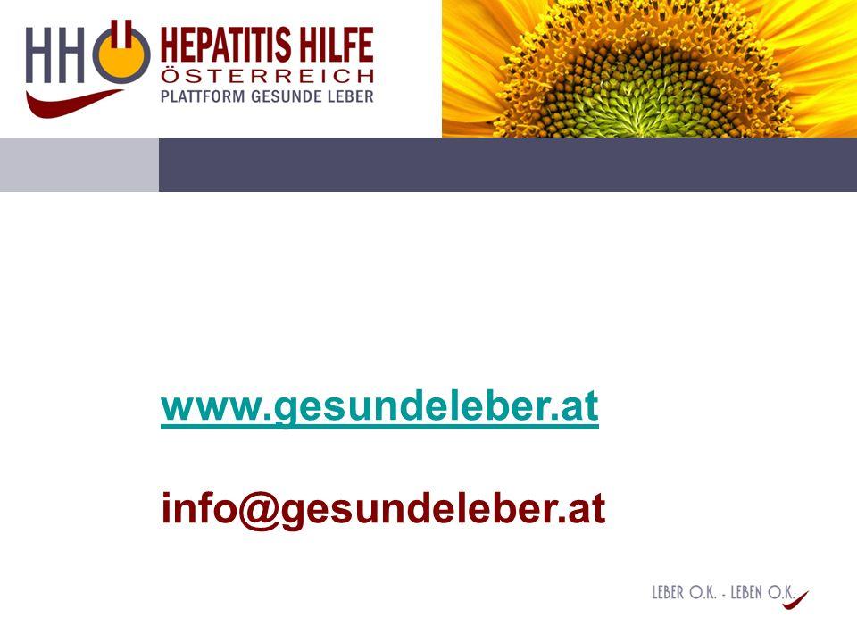 www.gesundeleber.at www.gesundeleber.at info@gesundeleber.at