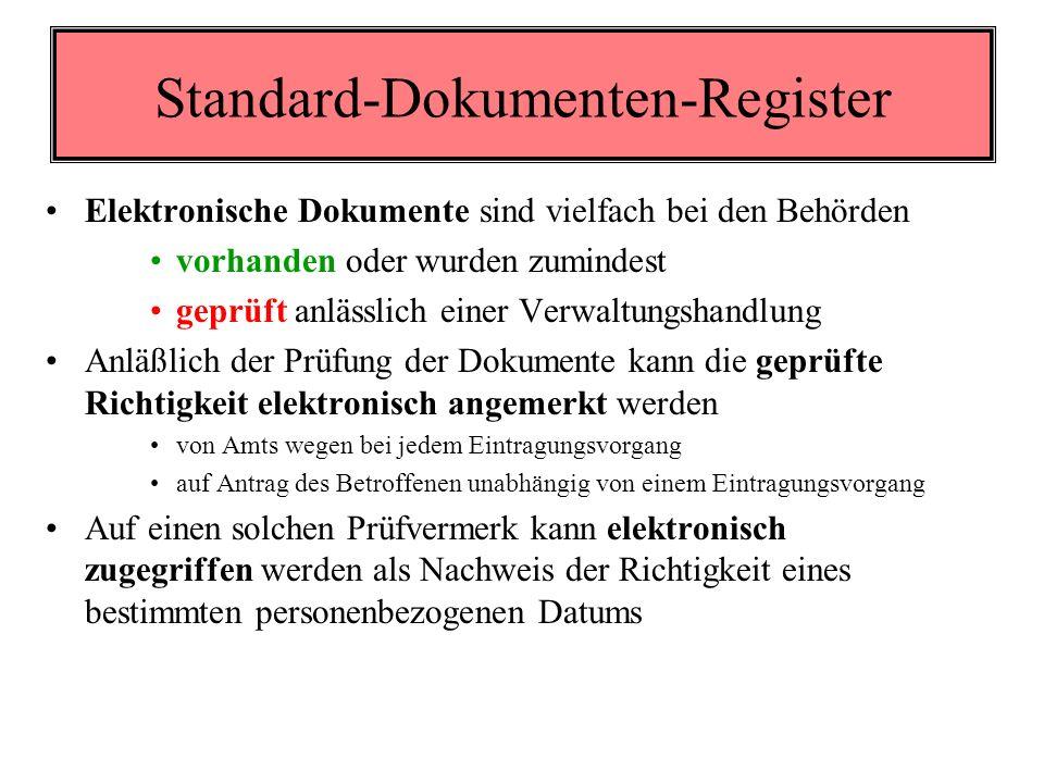 Das Konzept bereichsspezifische Personenkennzeichnung Durch die Rückführbarkeit auf eine Stammzahl können AUSNAHMSWEISE und nur vom Stamm- zahlenregister - in den rechtlich zulässigen Fällen - Daten zur selben Person aus verschiedenen Bereichen zusammengefunden werden: Ermöglichung der Amtshilfe