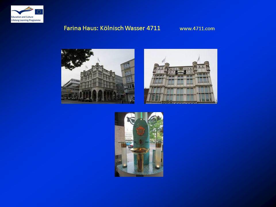 Farina Haus: Kölnisch Wasser 4711 www.4711.com