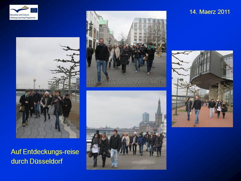 14. Maerz 2011 Auf Entdeckungs-reise durch Düsseldorf