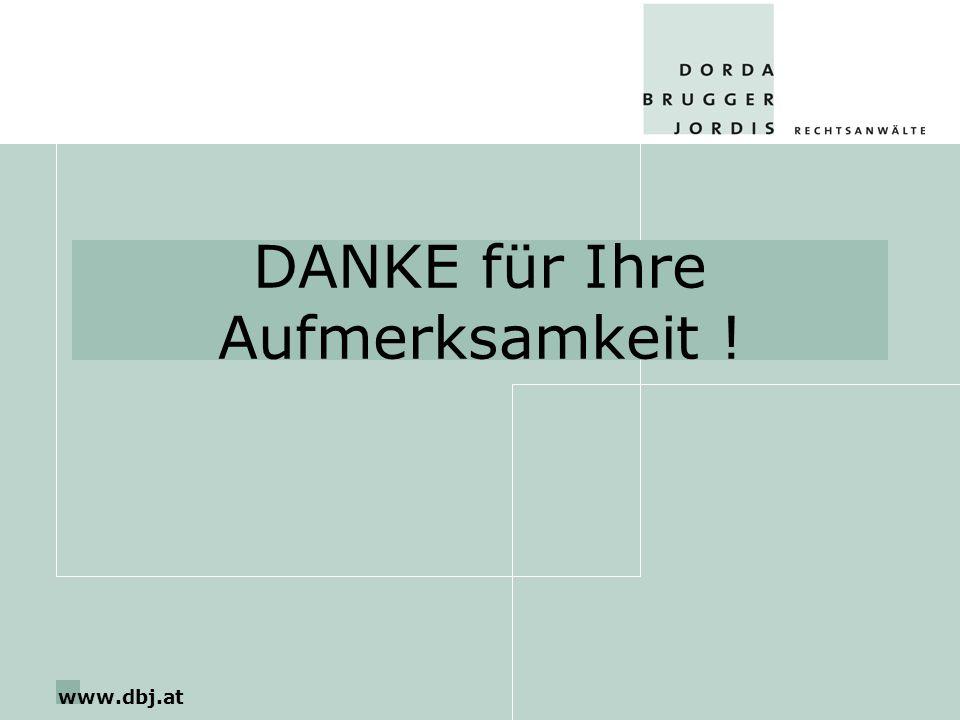 www.dbj.at DANKE für Ihre Aufmerksamkeit !