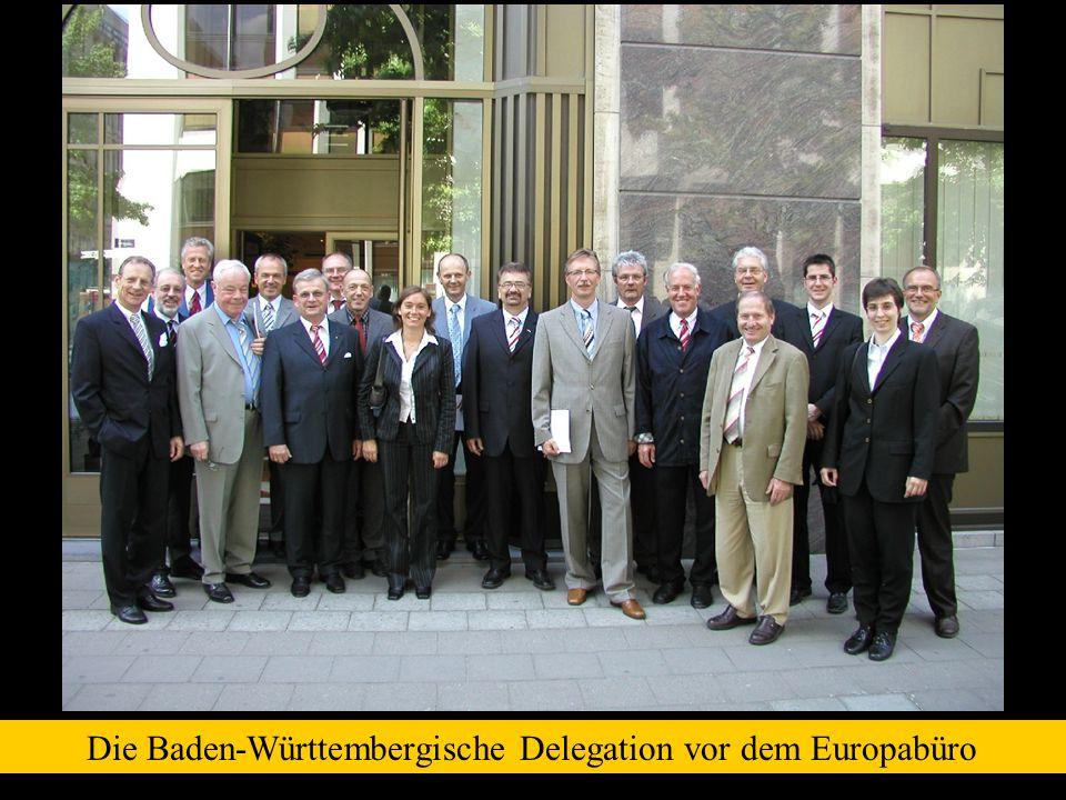 Harry Brunnet (BM Hardthausen) und Dr. Jürgen Schmidt (OB Wurzen)