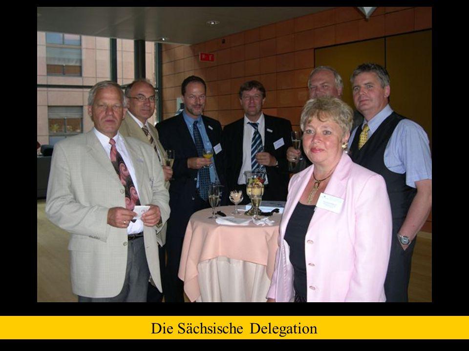 Die Sächsische Delegation