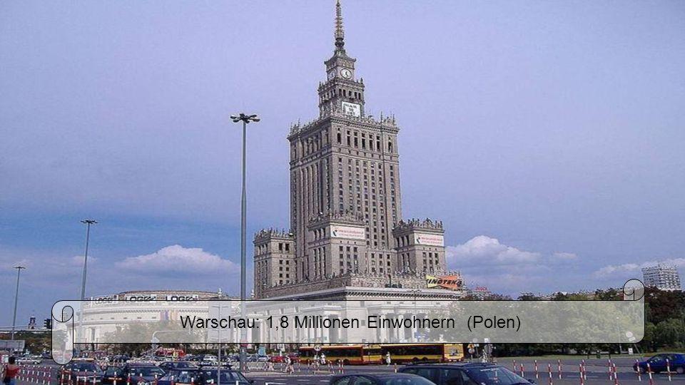 Wien 1,7 Millionen Einwohnern (Österreich)