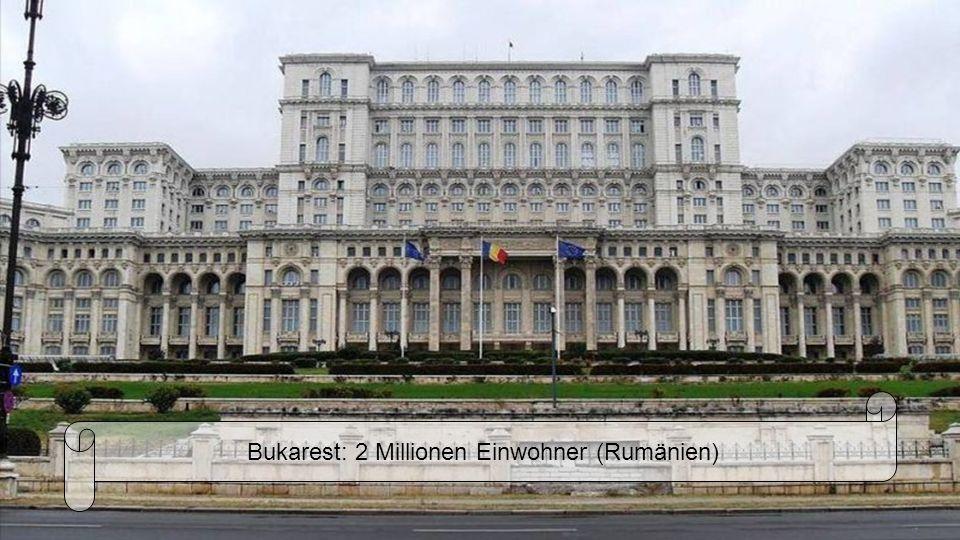 Warschau: 1,8 Millionen Einwohnern (Polen)
