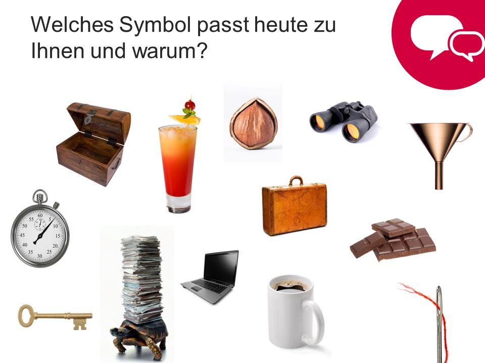 Welches Symbol passt heute zu Ihnen und warum?
