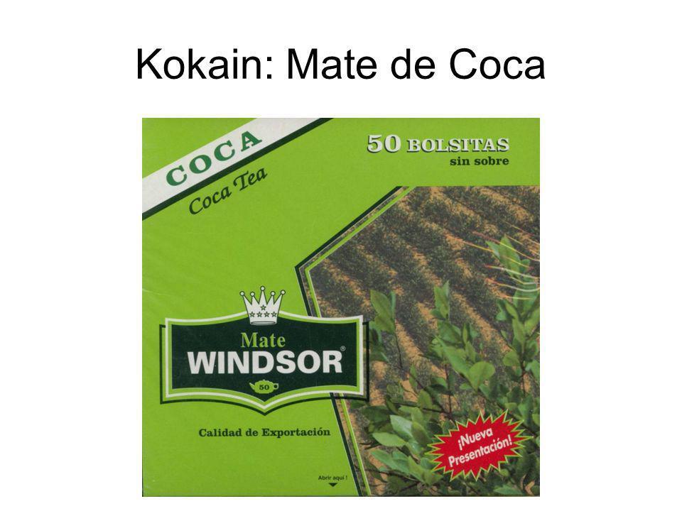 Kokain: Mate de Coca