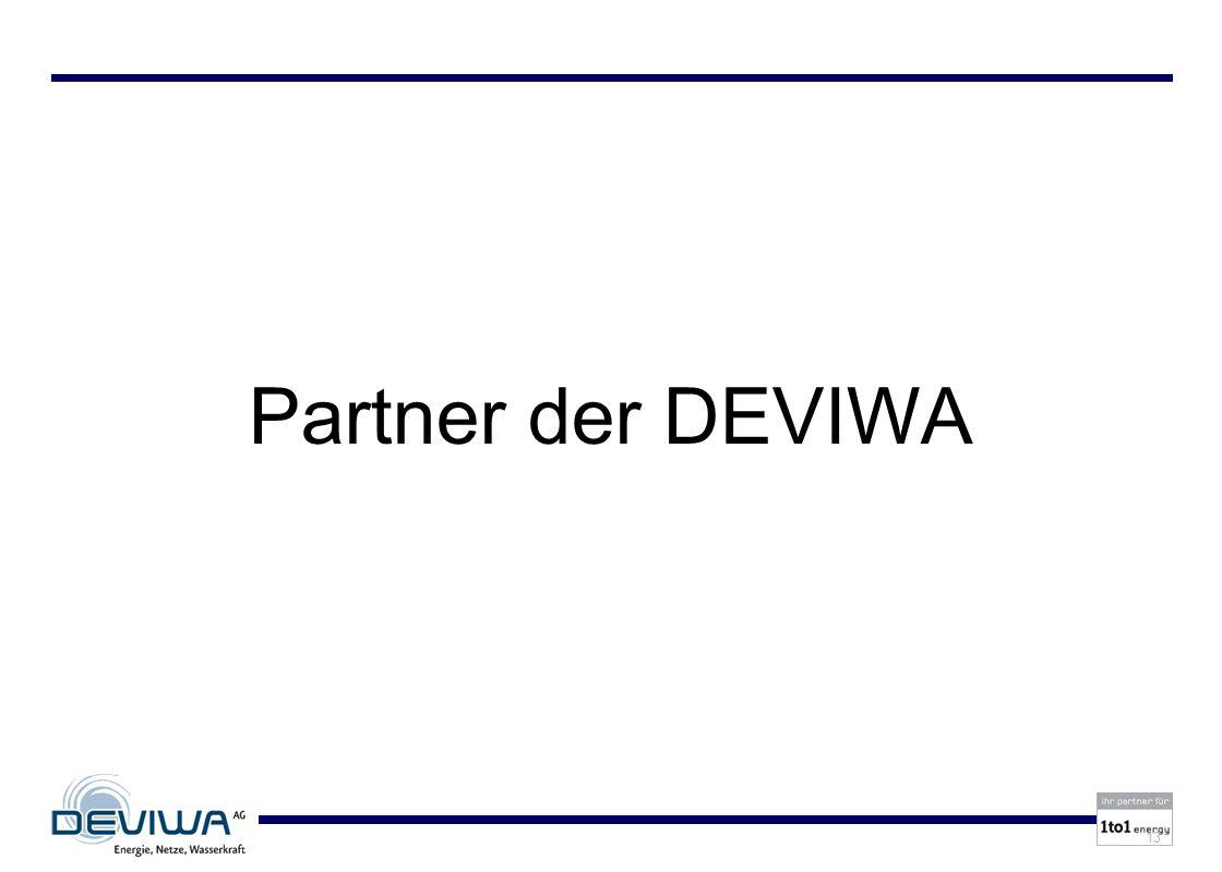 13 Partner der DEVIWA